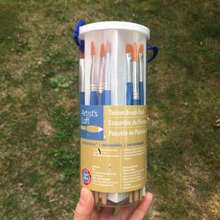 24 Water Colour (Taklon) Brushes