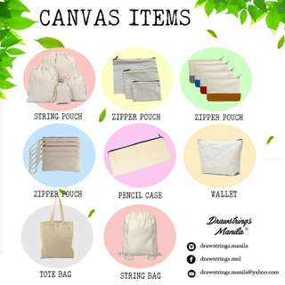 Canvas Bag, Pouches, Tote Bags, Packaging, Giveaways