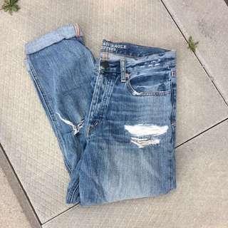 Size 2 AEO Mom Jeans