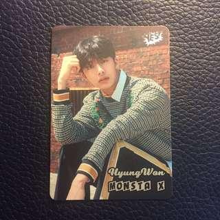 MONSTA X Hyung Won YES! Card