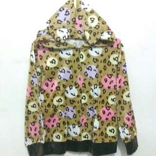 Jaket Animal Leopard