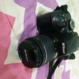 Nikon D3400 + kit lens *for sale* *just 1 year old*