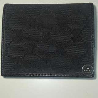 🚚 Gucci 信用卡夾 黑色經典款 正品
