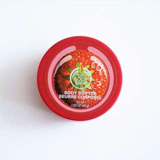 The Body Shop - Strawberry Body Butter, 50mL