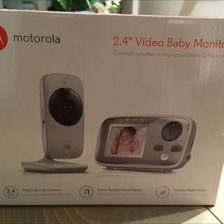 Brand New Never Opened Baby Video Monitor By Motorola