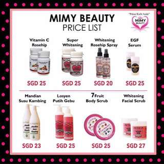 MimybeautyProduct (NEW PRICE)