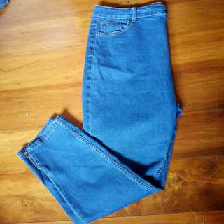 Size 16/18 jeans
