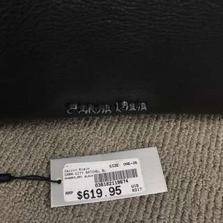 AUTHENTIC LEATHER CALVIN KLEIN BAG