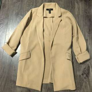 Camel Throw-over Jacket