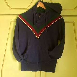 Authentic Ralph Lauren Rugby Chevron Patch with Hoodie