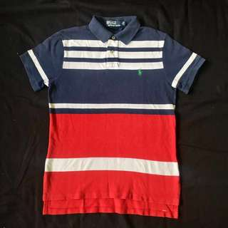 *REPRICED* Polo by Ralph Lauren Custom Fit Color Block Shirt