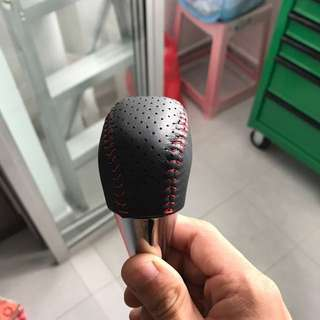 Toyota wish / sienta leather gear knob wrap