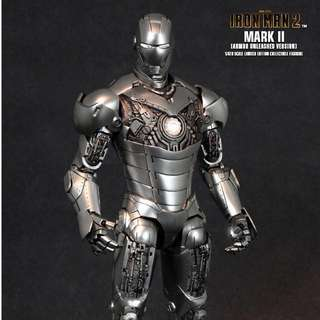 IRON MAN 2 MARK II (ARMOR UNLEASHED VERSION) 1/6TH SCALE LIMITED EDITION COLLECTIBLE FIGURINE