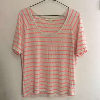 FOREVER 21 Striped T-shirt
