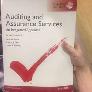 🚚 Auditing and Assurance Services 15版 #教科書出清