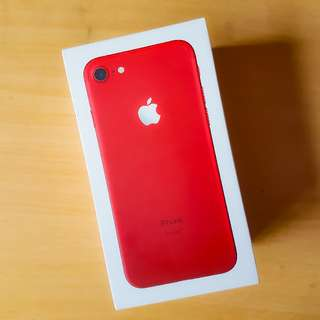 iPhone 7 red series (128GB)