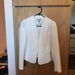 White Blazer from H&M