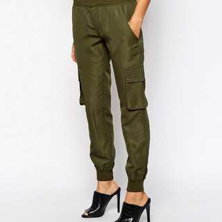Daisy Street Cargo Pant With Pocket Detail Size S