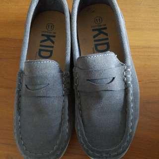 Boat Shoe in Grey