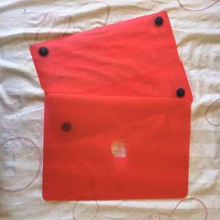 Macbook Red Case