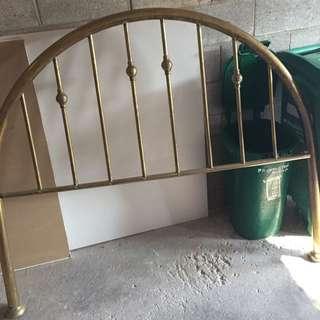 Brass Arch Headboard