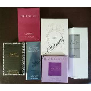 AUTHENTIC U.S TESTER PERFUMES
