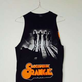 CLOCKWORK ORANGE SINGLET
