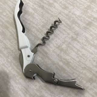 Wine And Bottle Opener