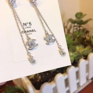 正品Chanel N。5香水禮品 長款耳環