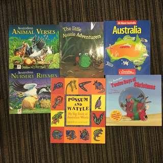 Children books about Australia