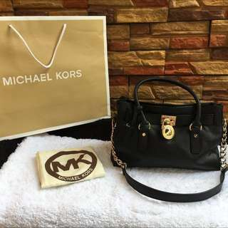 Michael Kors Hamilton Bag Authentic