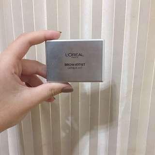 L'Oréal 眉彩盒 01深色