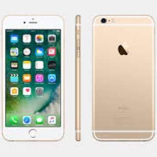 Iphone 6s plus 16gb (Gold)