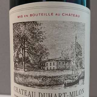 2009 Chateau Duhart-Milon, PAUILLAC, FRANCE (Critics' Score, Aggregated 93/100)