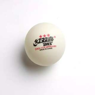 10 Original DHS 40+ 3 stars ITTF Approved table tennis ball