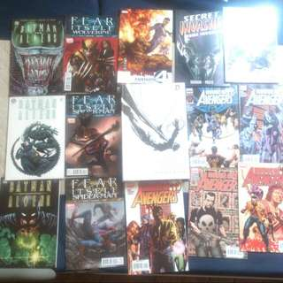 Dc Marvel Tpb Comics