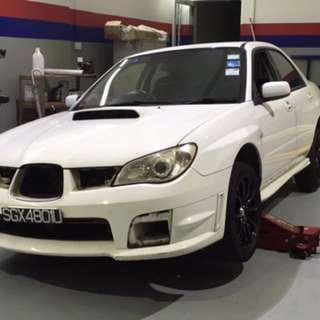 Subaru Impreza Hood & Boot