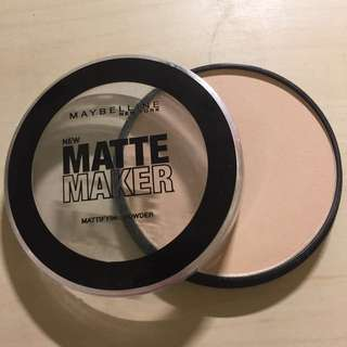 New Matte Maker Powder