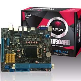 Afox IH55-MA Intel LGA1156 H55 DDR3 MicroATX