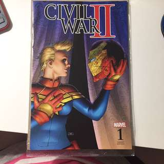 Marvel Civil War II Variant Cover Issue 1