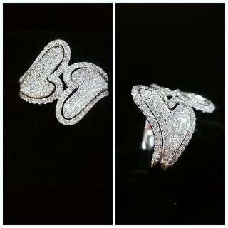 18K白金鑽石戒指   120RD:0.81ct