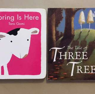 📚 Spring is here/The tale of three trees