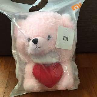 MI Pink teddy bunny