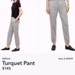 Aritzia Wilfred Turquet Pants