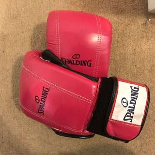 Spaulding Boxing Gloves