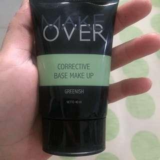Make over Greenish base make up ( Primer)