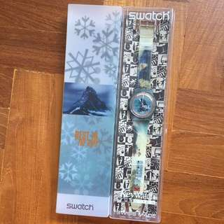 Swatch best in the alps vintage