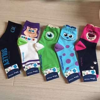 Kaos Kaki edisi Disney Pixar / women's socks / preorder japan