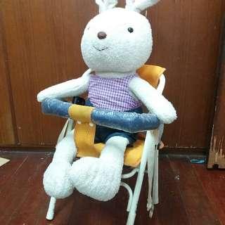二手_兒童機車座椅(不含兔娃)