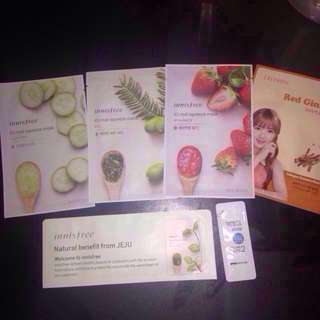 (New) Innisfree it's real squeeze mask pack